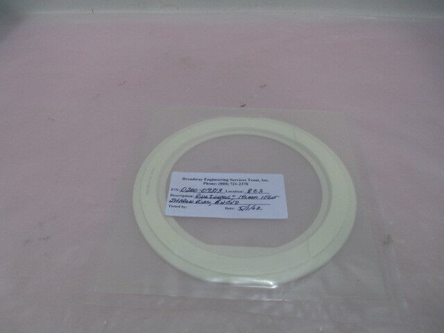 """AMAT 0200-09313, Ring Inner, 6"""", 140mm, 1 FLAT, Shadow Ring, BWCVD. 417378"""