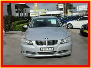2005 BMW 325I E90 Silver 6 Speed Auto Sports Mode Sedan North Parramatta Parramatta Area Preview