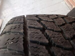 3x winter tires on rims -195/65R15 - VW  -  ET47  6jX 15H2