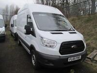 Ford Transit 350 L3 H3 2.2 Tdci 125Ps Van DIESEL MANUAL WHITE (2015)