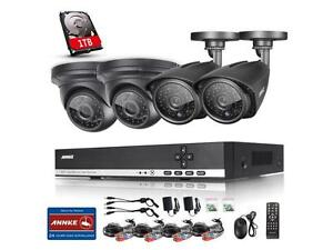 HD CRISTAL CLEAR NIGH VISION SECURITY CAMERA SYSTEM