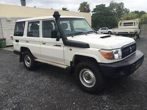 2016 TOYOTA LANDCRUISER WORKMATE 4X4 TURBO DIESEL WAGON (AS NEW) Rochedale South Brisbane South East Preview