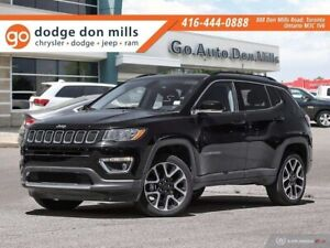 2018 Jeep Compass Limited - Leather - 4x4 - Heated seats - Nav -