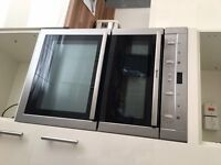 Neff Built In Double Oven Stainless Steel - Excellent condition - £200