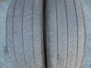 PAIR OF 225/65R17 ALL SEASON.$30 FOR BOTH.