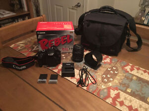 DSLR CANON REBEL T3 375$ NEGO