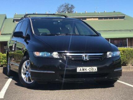 2005 Honda Odyssey 3rd Gen Luxury Black Sports Automatic Wagon