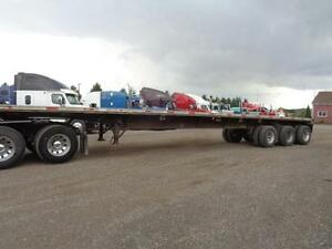 2000 FONTAINE 48 TRIDEM COMBO FLAT BED TRAILER Kitchener / Waterloo Kitchener Area image 9