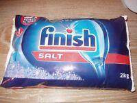 Free 4kg Finish dishwasher salt - collect outside Penicuik