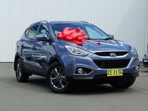 2014 Hyundai ix35 LM3 MY15 SE Blue 6 Speed Sports Automatic Wagon Kings Park Blacktown Area Preview