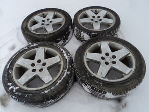 4 18 inch Alloy Rims for Dodge / Chrysler / Jeep