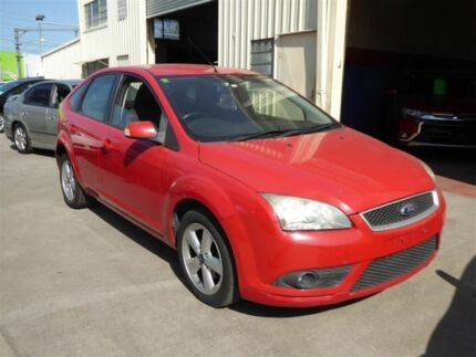 2008 Ford Focus LT TDCi Red 6 Speed Manual Hatchback Brendale Pine Rivers Area Preview