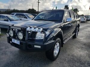 2006 Nissan Navara D40 ST-X (4x4) Black 6 Speed Manual Dual Cab Pick-up Officer Cardinia Area Preview