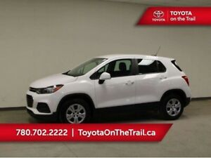 2017 Chevrolet Trax LS; LOW KM, BACKUP CAMERA, A/C, BLUETOOTH