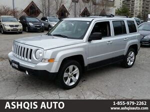 2011 Jeep Patriot LIMITED 4X4 Leather seats Sunroof