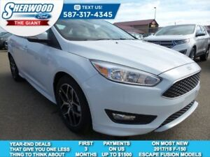 2017 Ford Focus SE - Heated Seats, Bluetooth, USB Port