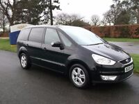 FORD GALAXY 2009 BLACK COLOUR BREAKING FOR SPARES