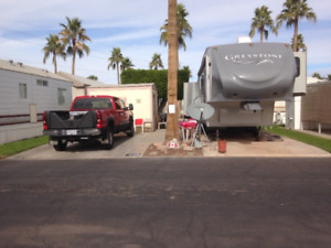 RV Space Oct thru Dec 2017 in Yuma Arizona Park
