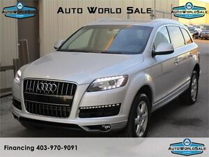 2013 AUDI Q7 3.0 T QUATTRO| 7 PASSENGER-REMOTE START| NO Acciden