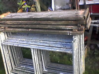 Galvanised Tower scaffold .Good quality.