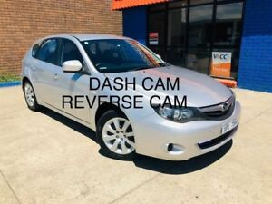 2010 Subaru Impreza G3 MY10 R AWD Silver 5 Speed Manual Hatchback