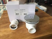 Victoria Plum Shower Tray waste brand new in box drainage sink plug