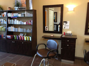 HAIR STATIONS, PRODUCT DISPLAY & MANICURE TABLE – PRICED TO GO!