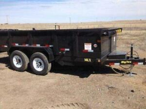 2017 Big Tex Dump Trailers 7x14 - Loaded