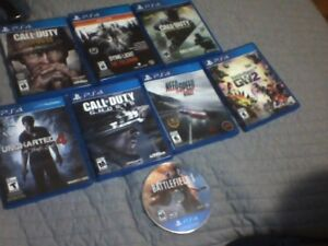ps4 games perfect condition all working!!