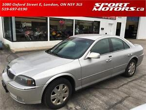 2004 Lincoln LS Luxury! Leather! Sunroof! AS IS! Valid E-Test!