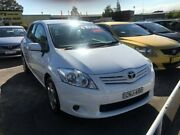 2011 Toyota Corolla ZRE152R MY11 Ascent, Hatchback White Automatic Hatchback Clyde Parramatta Area Preview