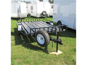 2016 Mirage 6X10 Utility Cargo Craft Side Load Trailer
