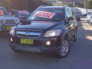 2008 Holden Captiva CG MY08 LX (4x4) Black 5 Speed Automatic Wagon Holroyd Parramatta Area Preview