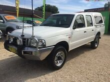 2003 Ford Courier PG GL White Manual Crewcab Islington Newcastle Area Preview