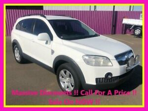 2008 Holden Captiva CG MY08 CX (4x4) White 5 Speed Automatic Wagon Dubbo Dubbo Area Preview