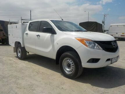2013 Mazda BT-50 White Sports Automatic Utility Pakenham Cardinia Area Preview