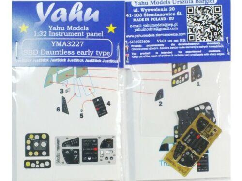 YAHU YMA3227 Dauntless early (SBD-1/3) 1/32 instrument panel