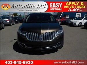 2011 Lincoln MKX LEATHER BACK-UP CAMERA 90 DAYS NO PAYMENTS