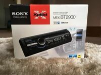 Sony: Car CD Player/Bluetooth/Front Aux