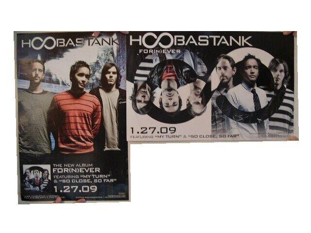 Hoobastank Poster 2 Sided For(n)ever Fornever