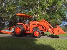 Kubota tractor with 4-in-1 bucket and slasher Murwillumbah Tweed Heads Area Preview
