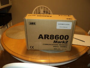 AOR AR-8600 MARK2 WIDE BAND RECEIVER