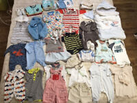 Summer baby clothes 0-3 months