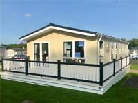 40 x 20 Super Lodge with full decking for sale on pet friendly 12 month park
