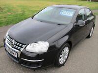 2009 (59 Reg) Volkswagen Jetta S TSI 122bhp 4 dr Saloon Petrol like Golf Astra Focus