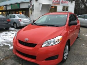 2011 Toyota Matrix Only 98km.Safety/E Test Included Price