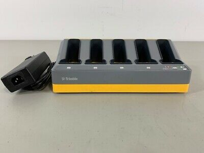 Trimble 5 Bay Charger For Gps And Total Station Batteries S6 R8 R6 Pre-owned