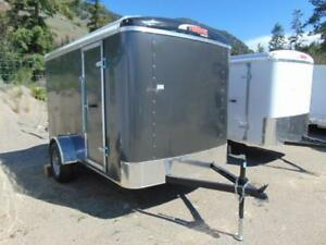 2018 Mirage 6X10 Single Axle Cargo Trailer w. Ramp and X Height