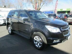 2013 Holden Colorado 7 RG MY14 LTZ (4x4) Carbon Flash Black 6 Speed Automatic Wagon Invermay Launceston Area Preview