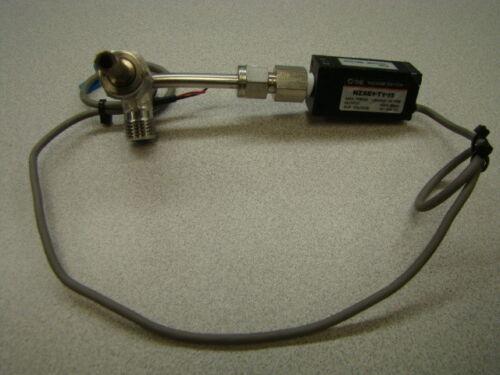 SMC NZSE1-T1-15 Vacuum Switch, 12~24VDC w/ adapter